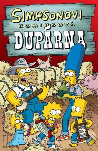 Matt Groening: Simpsonovi Komiksová dupárna cena od 194 Kč