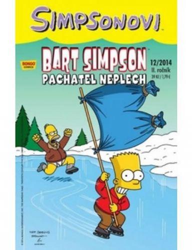 Matt Groening: Bart Simpson 2014/12: Pachatel neplech cena od 28 Kč
