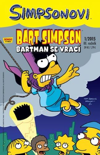 Matt Groening: Simpsonovi - Bart Simpson 1/15 - Bartman se vrací cena od 25 Kč