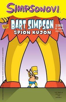 Matt Groening: Bart Simpson 2015/2: Špión kujón cena od 29 Kč