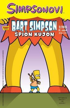 Matt Groening: Simpsonovi - Bart Simpson 02/15 - Špión kujón cena od 26 Kč