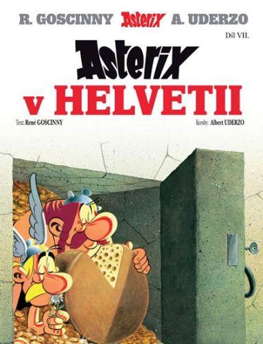René Goscinny: Asterix 7 - Asterix v Helvetii cena od 70 Kč