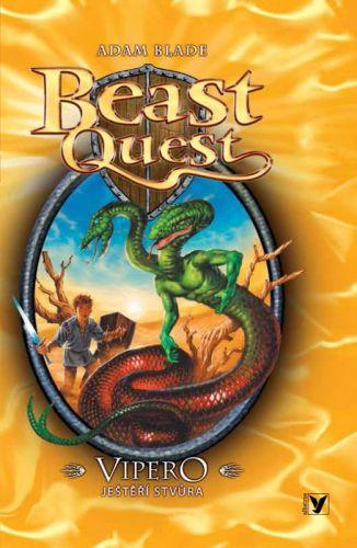 Adam Blade: Vipero, ještěří stvůra, Beast Quest (10) cena od 93 Kč