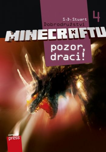 S.D. Stuart: Dobrodružství Minecraftu 4 - Pozor, draci! cena od 87 Kč