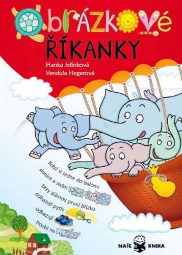 Hanka Jelínková: Obrázkové říkanky cena od 110 Kč