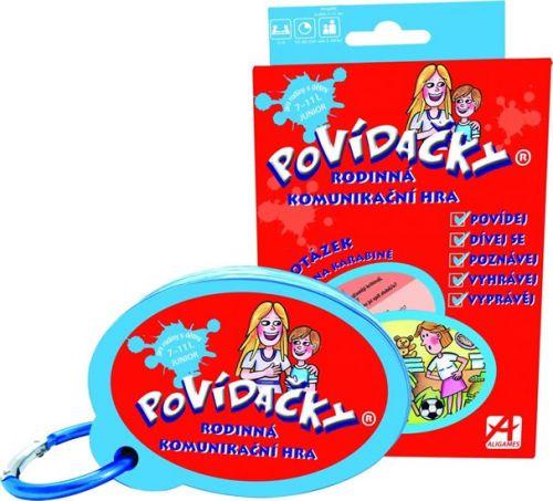 Löflerová Andrea: Povídačky Junior - Rodinná komunikační hra cena od 177 Kč