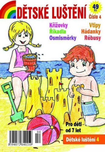 Dětské luštění 4 cena od 33 Kč