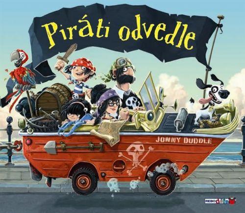 Jonny Duddle: Piráti odvedle cena od 119 Kč