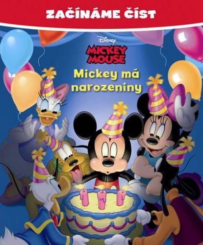 Walt Disney: Mickey Mouse - Mickey má narozeniny - Začínáme číst cena od 87 Kč
