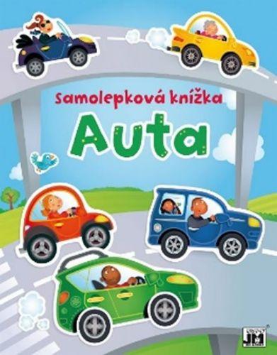 Samolepková knížka Auta cena od 93 Kč