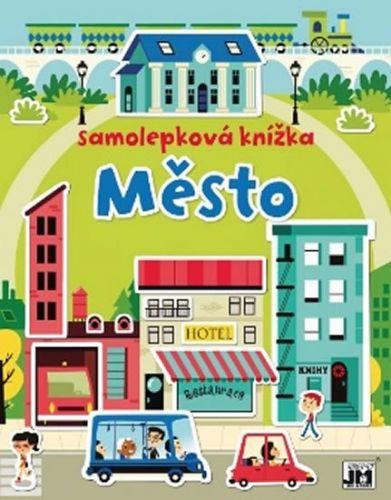 Samolepková knížka Město cena od 86 Kč