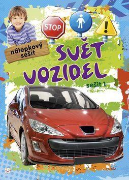 Aksjomat Nálepkový sešit Svět vozidel 1 cena od 24 Kč