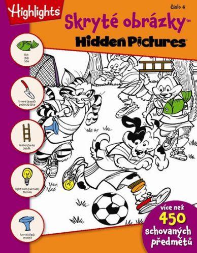 Skryté obrázky 4 cena od 33 Kč