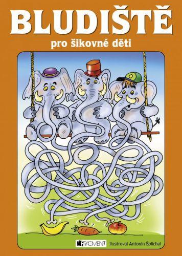 Antonín Šplíchal, Jitka Pastýříková: Bludiště pro šikovné děti (oranžová) cena od 53 Kč