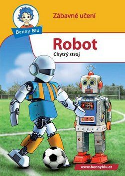Ditipo Benny Blu Robot cena od 24 Kč