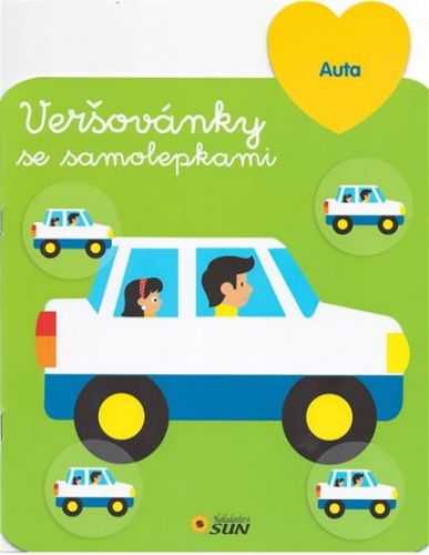 Auta - Veršovánky se samolepkami cena od 58 Kč