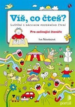 Iva Nováková: Víš, co čteš? cena od 116 Kč