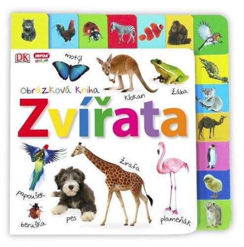 Obrázková kniha - Zvířata cena od 194 Kč
