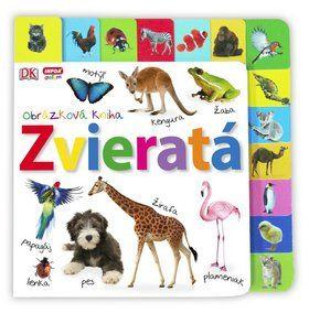 Obrázková kniha - Zvieratá cena od 174 Kč