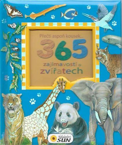 365 zajímavostí o zvířatech cena od 130 Kč