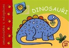 Aksjomat Dinosauři Omalovánka s nálepkami cena od 21 Kč