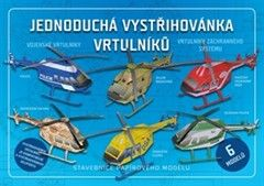Jednoduchá vystřihovánka vrtulníků cena od 31 Kč