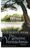 Webb Katherine: Geheime Vermächtnis cena od 241 Kč