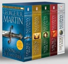 Martin, George R R: Song of Ice & Fire #1-5 (Boxed Set) cena od 798 Kč