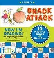 Gaydos Nora: Snack Attack (Now I'm Reading!: Level 2) cena od 281 Kč