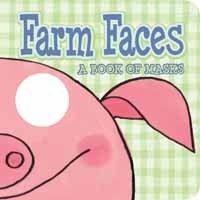 Larranaga, Ana (ill): Farm Faces: A Book of Masks cena od 103 Kč