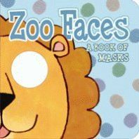 Larranaga, Ana (ill): Zoo Faces: A Book of Masks cena od 85 Kč