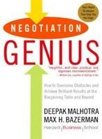 Malhotra Bazerman: Negotiation Genius: How To Overcome Obstacles And Achieve Brilliant Results At The Bargain cena od 372 Kč