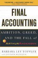 Toffler Barbara: Final Accounting cena od 305 Kč