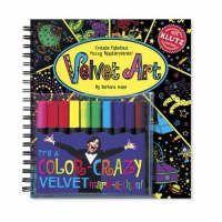 (various): Velvet Art: Create fabulous fuzzy masterpieces cena od 370 Kč