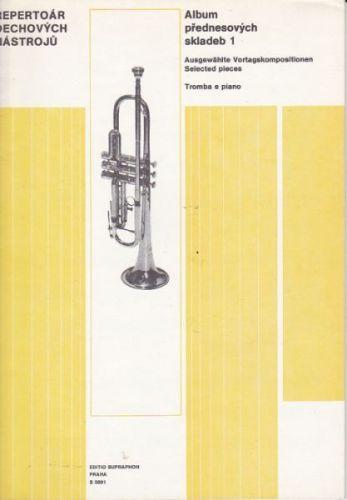 Album přednesových skladeb 1-trubka a piano cena od 79 Kč