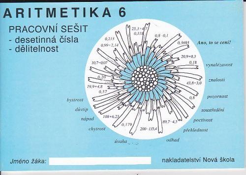 Zdena Rosecká: Aritmetika 6 -pracovní sešit cena od 0 Kč