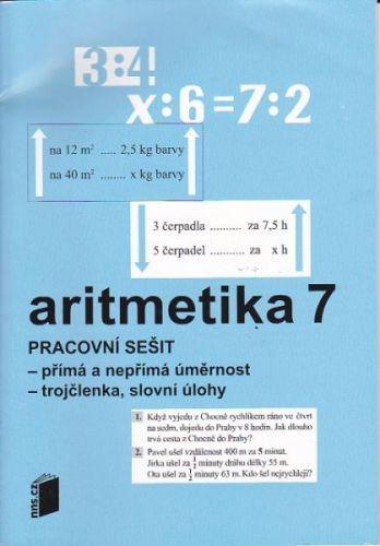 Zdena Rosecká: Aritmetika 7 pracovní sešit cena od 30 Kč