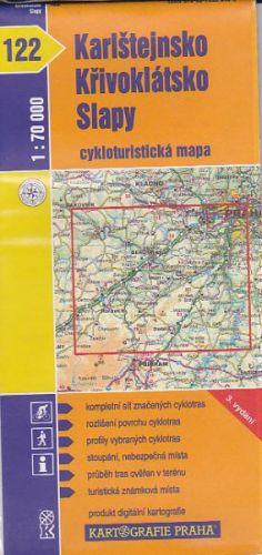 CTM 122 Karlštejnsko, Křivoklátsko, Slapy cena od 20 Kč