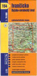 Ivančicko dyjsko-svratecký úval 1:70 000 cena od 18 Kč