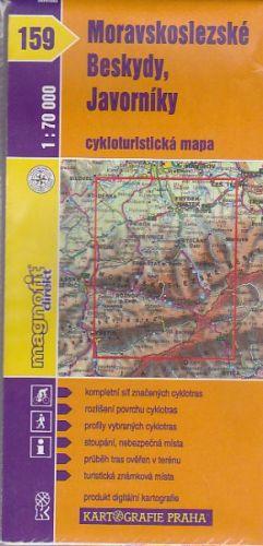 Moravskoslezské Beskydy Javorníky 1:70 000 cena od 25 Kč