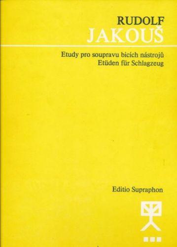 Jakouš Rudolf: Etudy pro soupravu bicích nástrojů cena od 95 Kč