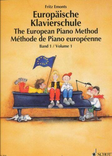 Emonts Fritz: Europäische Klavierschule 1 - Evropská klavírní škola 1 cena od 228 Kč