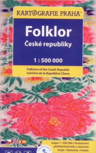Folklor české republiky 1:500 000 cena od 149 Kč