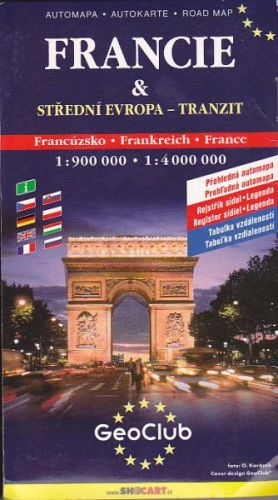 Noviková Naomi: Francie automapa cena od 104 Kč