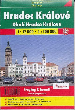 Hradec Králové plán cena od 59 Kč