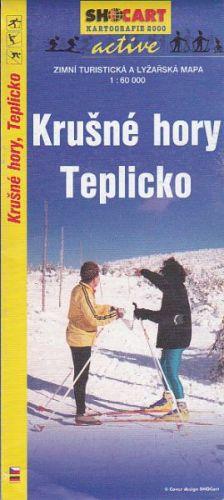 Krušné hory Teplicko 1: 60 000 cena od 20 Kč