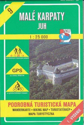 Mapa č.9-Malé Karpaty juh cena od 73 Kč