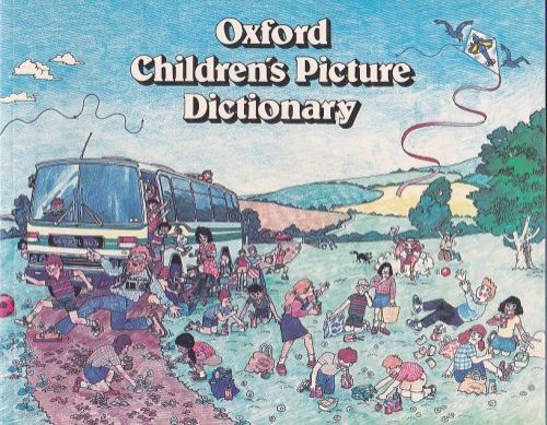 XXL obrazek Oxford Childrens Picture Dictionary