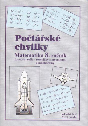 Rosecká Zdena: Počtářské chvilky 8.ročník cena od 32 Kč