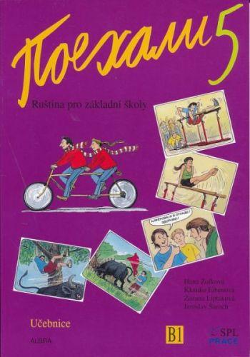 Pojechali 5 ruština pro základní školy učebnice cena od 214 Kč